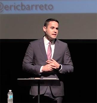 Dr. Eric Barreto spoke this week at Emmanuel Christian Seminary at Milligan College.