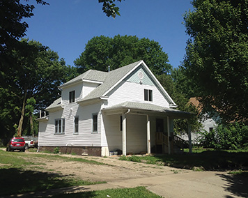 Missions pastor B.J. Leonard and his family moved into this home in a troubled part of Decatur, IL, where First Christian Church is serving in many ways.