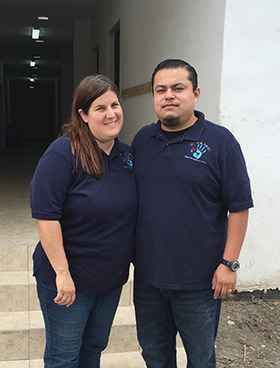 ABOVE: Michelle (Peek) Zuñiga and her husband, Jesus, serve as directors of Con Mis Manos—With My Hands—in Matamoros, Mexico. The ministry assists the deaf and their families through education, counseling, vocational training, and evangelism.