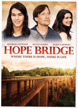 "This poster is for Joe Boyd's film ""Hope Bridge."""