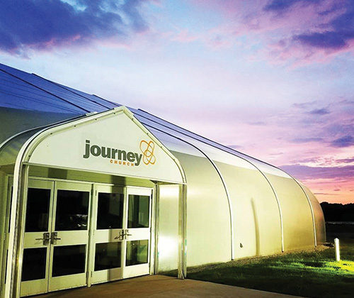 WHERE'S THE STEEPLE? — Journey Church, Three Way, TN