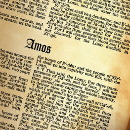 Lesson for July 30, 2017: Amos (Amos 7)