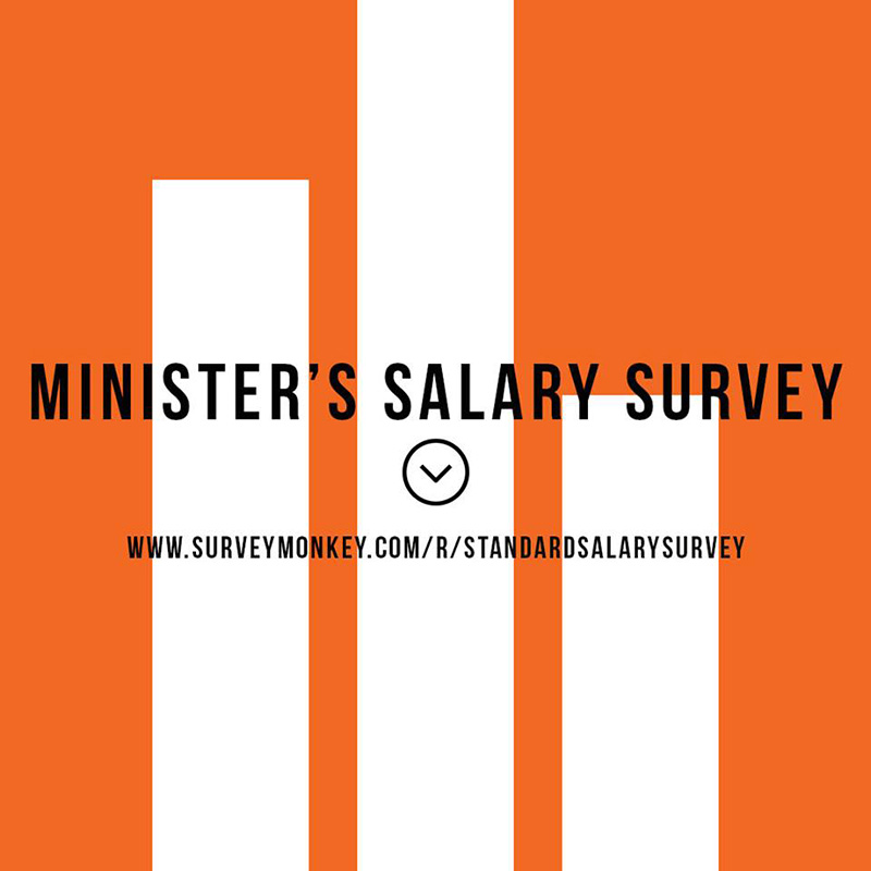 Minister's Salary Survey (It'll Take 2 Minutes)