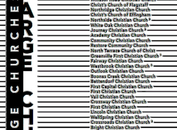The 2017 Charts: Large Churches and Medium Churches